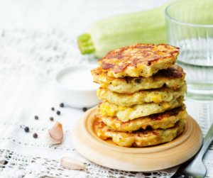 corn zucchini fritters weight loss recipe