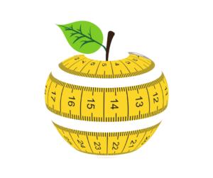 Apple tape measure