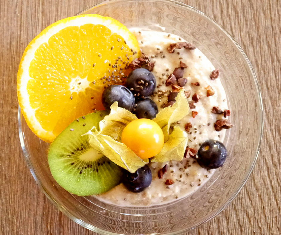 Chia Coffee Pudding